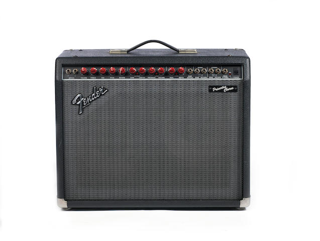 Fender Princeton combo guitar amplifier,  Serial No. LO-71545