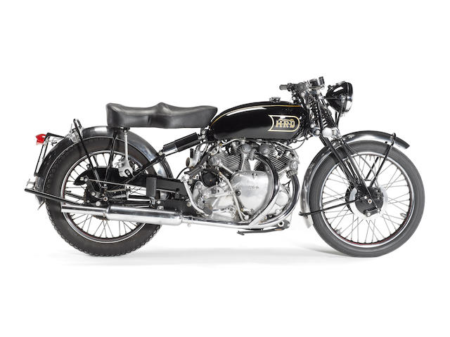 1949 Vincent-HRD 998cc Series B Rapide Frame no. R3759 Engine no. F10AB/1/1859