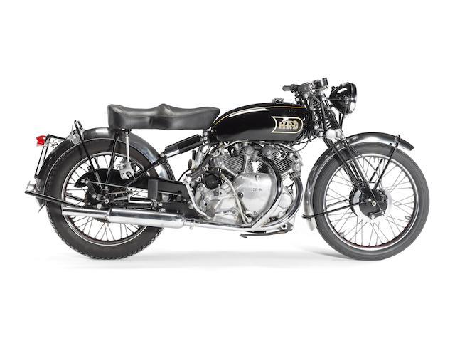 1949 Vincent-HRD 998cc Series B Rapide Frame no. R3759 Engine no. F10AB/1/1859