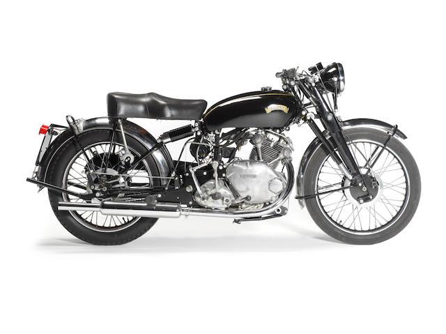 1950 Vincent 499cc Comet Frame no. RC/1/5690 Engine no. F5AB/2A/3790
