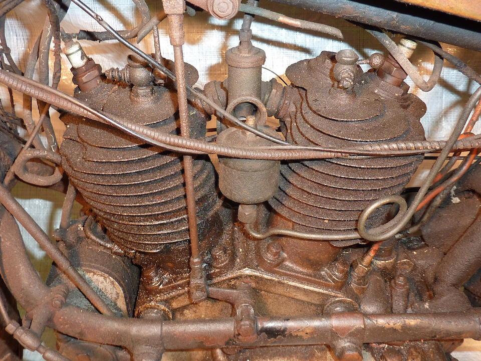 c.1923 Wanderer 616cc Frame no. 54279 Engine no. 30386