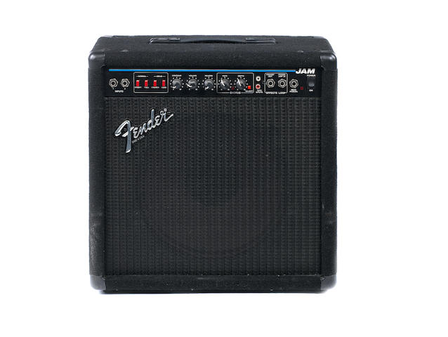 Fender Jam combo guitar amplifier, Serial No. LO-653703