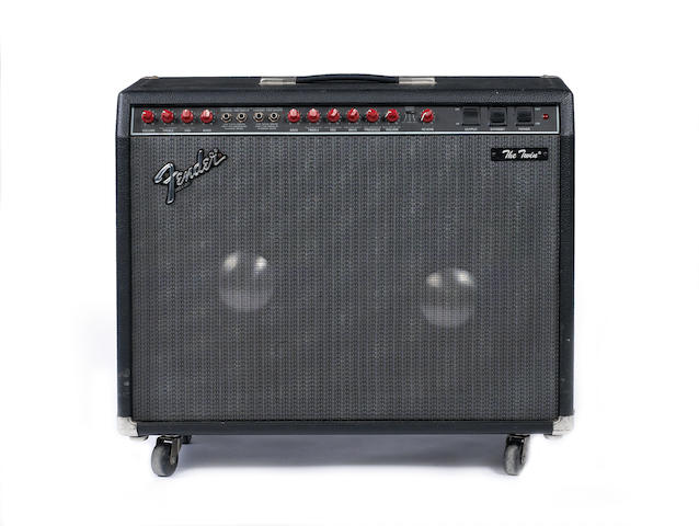 Fender 'The Twin', combo guitar amplifier, Serial No.  LO-55091
