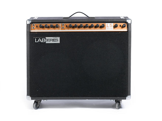 Lab Series L5 combo guitar amplifier, Serial No. 10579