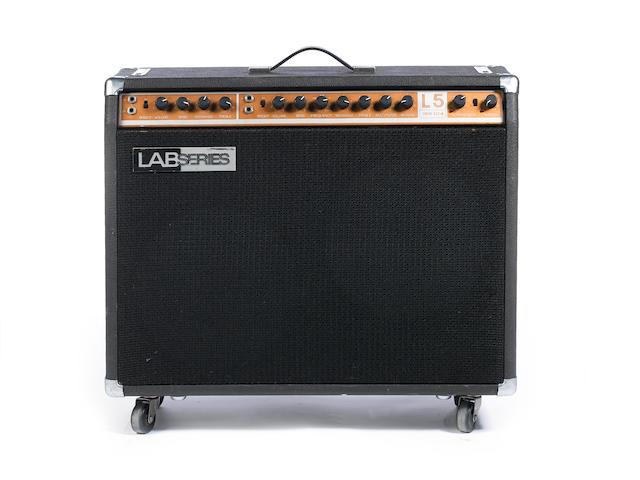 Lab Series L5 combo guitar amplifier, Serial No. 10579