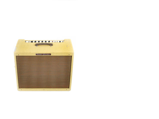Fender Bassman Tweed re-issue combo guitar amplifier,  Serial No. AA07104