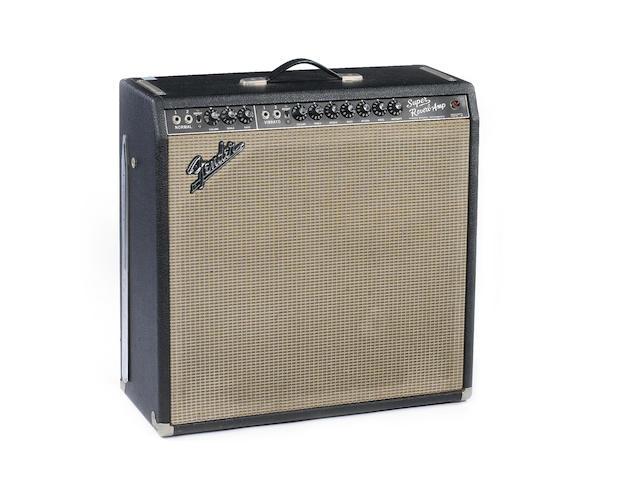 Fender Super Reverb combo guitar amplifier, Serial No. A-15064,
