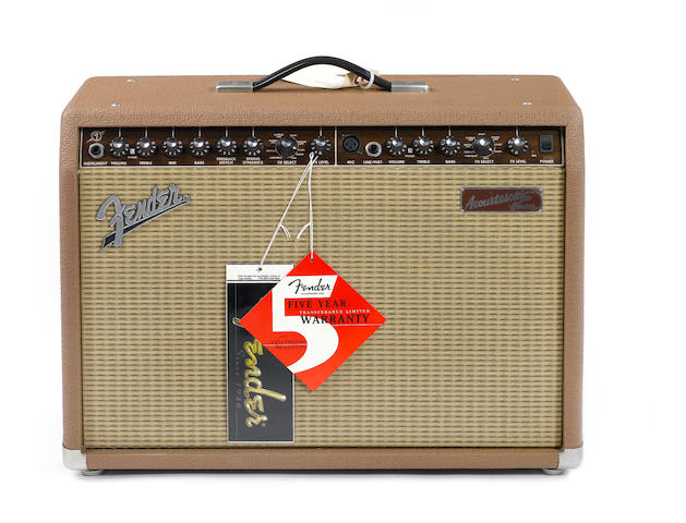 Fender Acoustisonic Junior, combo guitar amplifier,  Serial No. M1400896,
