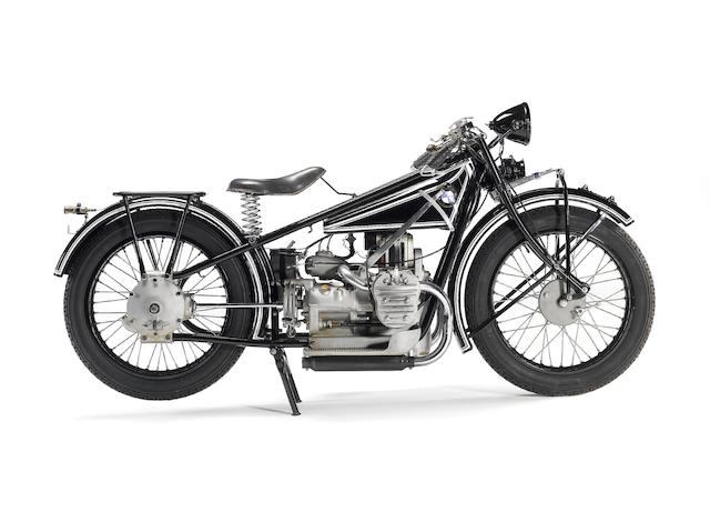 1928 BMW 494cc R42 Frame no. 16492 Engine no. 43668