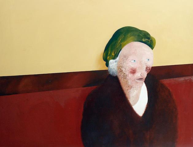 Maggi Hambling (British, born 1945) 'Public Bar 2'