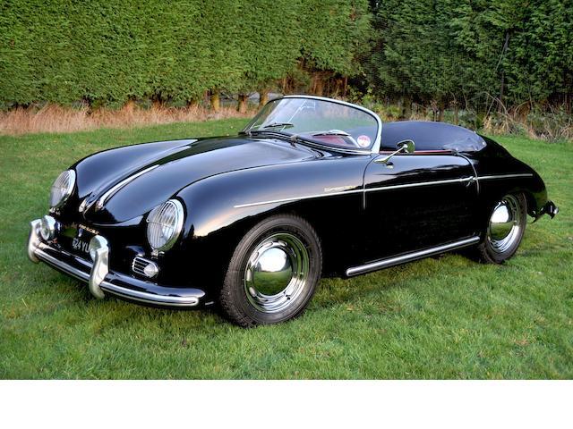 1956 Porsche Speedstor Roadster, Chassis no. 82642