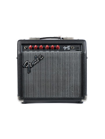 Fender 15 combo guitar amplifier,  Serial No. M-26139,