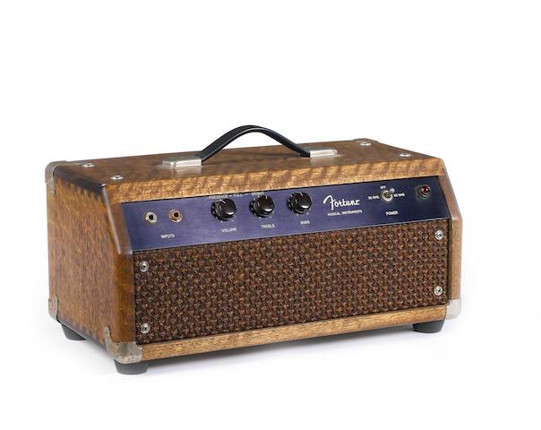 Fortune guitar amplifier head,  no Serial No.