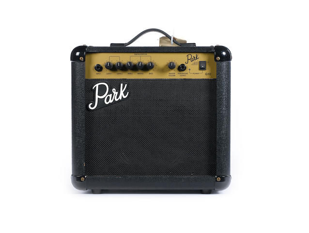 Park G10, combo guitar amplifier, Serial No. 930300915,