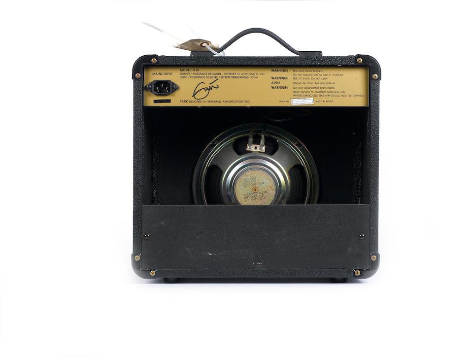 A 1993 Park G10, Serial No. 930300915,