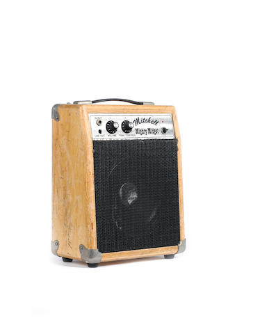 Mitchell Mighty Midget combo guitar amplifier,  no Serial No. (batteries or mains power),