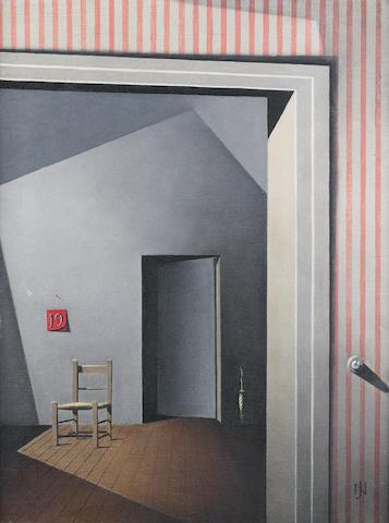 Neville Johnson (British, 1911-1999) Thursday 61 x 45.7 cm. (24 x 18 in.)