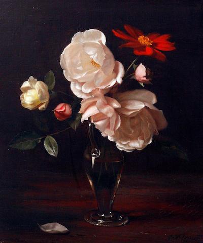 Jan Hendrik Eversen (Dutch, 1906-1995) Still life of flowers
