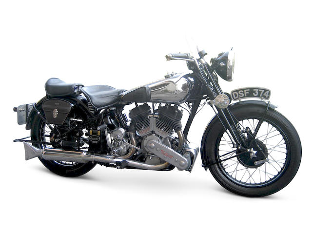 1936 Brough Superior 982cc SS80 Special Frame no. 1583 Engine no. BS/X5 4440