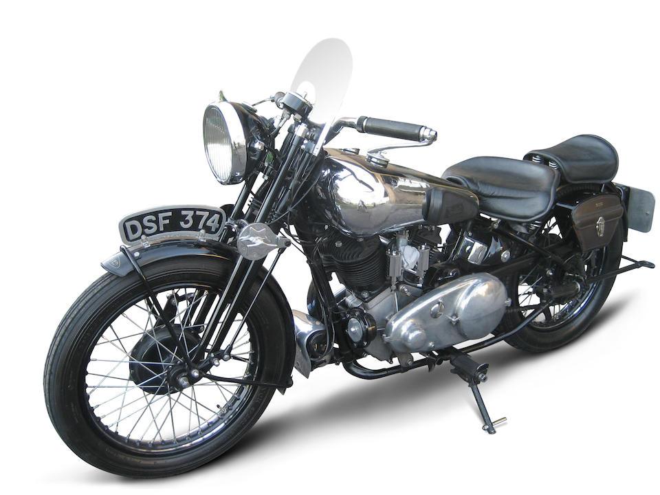 1936 Brough Superior 982cc SS80 Special Frame no. 1583 Engine no. BS/X5 4440
