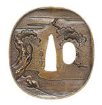 A sentoku tsuba Nara School, late 18th century