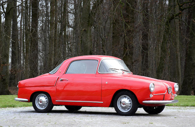 1956 Abarth 750 Coupé Viotti, Chassis no. 100-159853