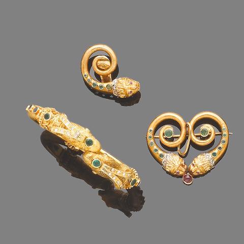 A gem-set bangle,  by Lalounis  (3)