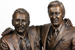 Brian Clough/Peter Taylor bronze statue