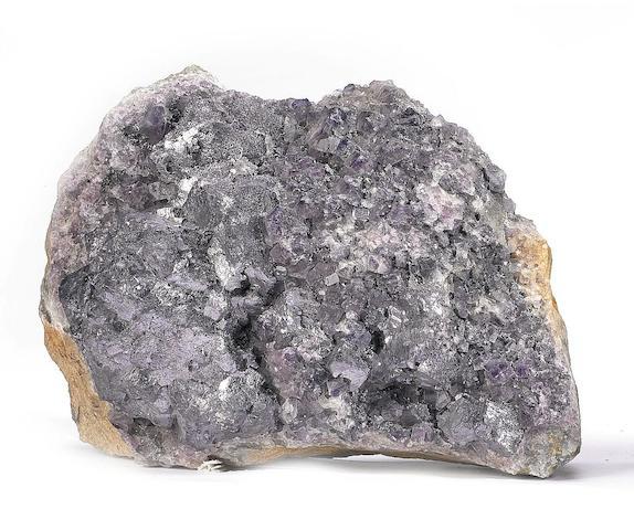 A Galena specimen (lead sulfide),