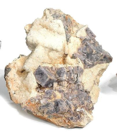 A fluorite mineral specimen of large size,54