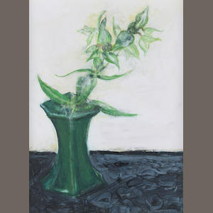 Camille Souter (Irish, 1929) Caper Spurge from Armagh 46 x 33 cm. (18 x 13 in.)