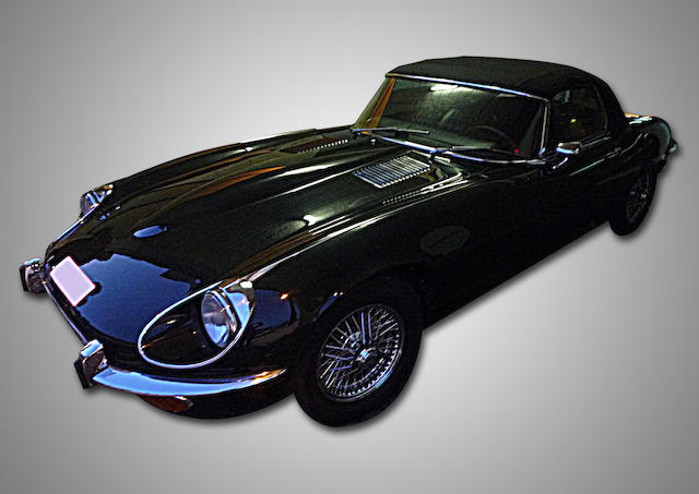 1972 Jaguar  E-Type Series III V12 Roadster  Chassis no. UC1S20505BW Engine no. 7S6926SB