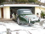 1953 Jaguar XK120M, Left hand drive, Drop Head Coupe, British Racing Green