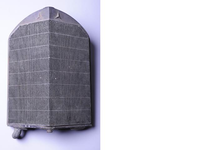 A Mercedes-Benz Type 680 radiator,