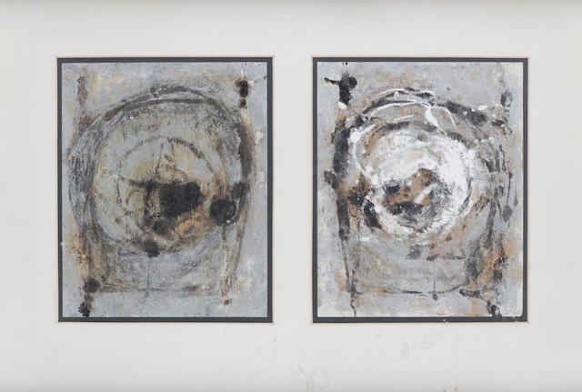 Camille Souter (Irish, 1929) Last of Achill both 41 x 60 cm. (16 x 23 1/2 in.)