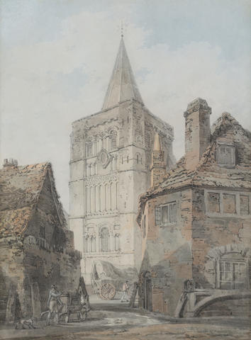 Joseph Mallord William Turner, RA (British, 1775-1851) St Mary's Church, Dover