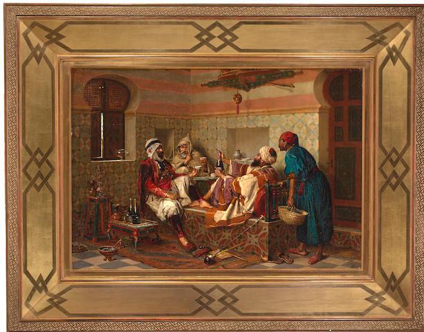 (n/a) Jan Baptist Huysmans (Belgian, 1826-1906) The Celebration