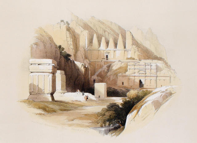 After David Roberts, RA (British, 1796-1864) A collection  Twenty lithographs in colours with handcolouring, on wove, each 225 x 325 mm (8 7/8 x 12 1/2 in)(I) 20 unframed