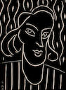 Henri Matisse (French, 1869-1954) Teeny (from XXe Siecle no.4) (Duthuit 723) linocut, 1938, on wove paper, from the unsigned edition of approximately 1500 published in XXe Siecle No 4, there was also a signed and numbered edition of 100, with stitch marks left margin, 290 x 220 mm (11 3/8 x 8 5/8 in) (SH)