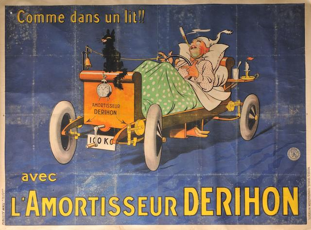 A Derihon shock absorbers poster,