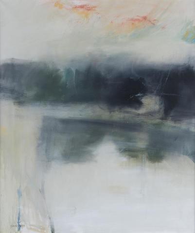 Basil Blackshaw (Irish, born 1932) Six Mile Water 61 x 51 cm. (24 x 20 in.)