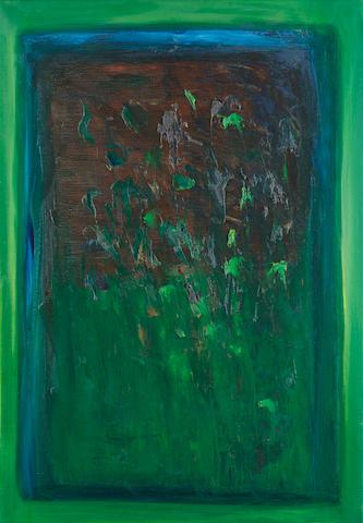 Séan McSweeney (Irish, born 1935) Bogland 63.5 x 91.5 cm. (25 x 36 in.)