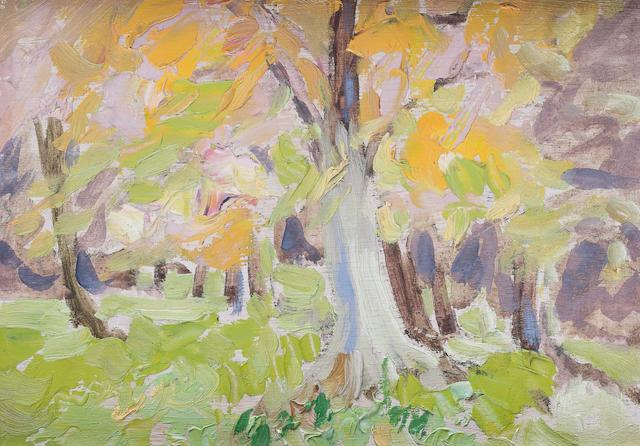 Letitia Marion Hamilton R.H.A. (Irish, 1878-1964) 11.5 x 16.5 cm. (4 1/2 x 6 1/2 in.)