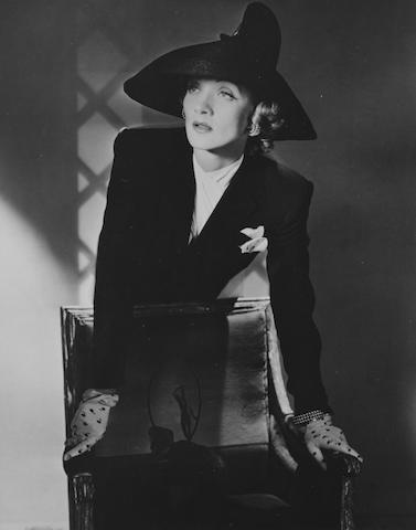 Horst P. Horst (German/American, 1906-1999) Marlene Dietrich 25.2 x 20.3cm (9 15/16 x 8in).