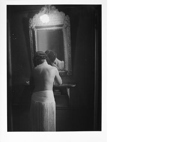 FOR FUTURE SALE Brassai, Fille au miroir, reprint 70's by Brassai