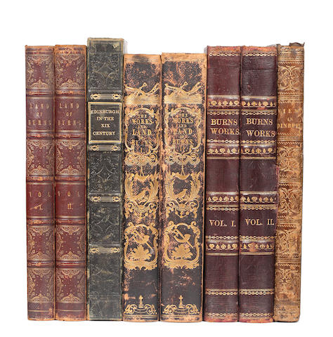 SCOTLAND CUNNINGHAM (ALLAN) The Poems, Letters, and Land of Robert Burns, 2 vol.