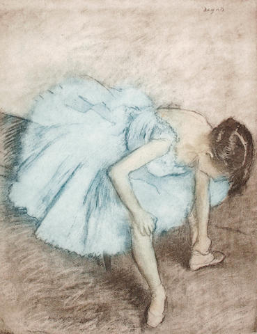 After Edgar Degas (French 1834-1917) Balletuse Etching and aquatint in colours, on wove, with margins, 256 x 196mm (10 1/16 x 7 11/16in)(PL)(unframed)