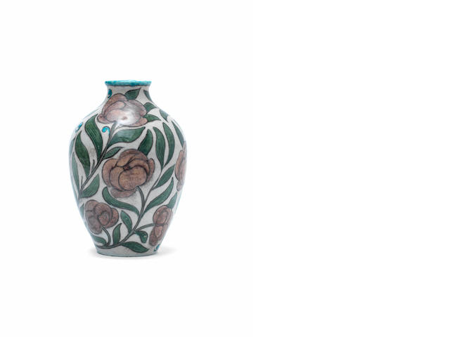 William De Morgan  An Isnik Style Vase, circa 1890