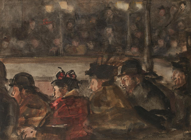 Isaac Israels (Dutch, 1865-1934) At the circus