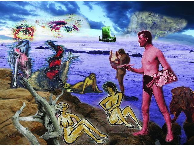 Bedri Baykam (born 1957) La Sirene